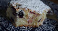 Lemon & blueberry cake (gf)