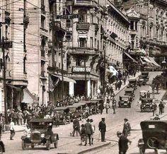 Avenida São João na década de 1920