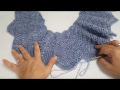 Alize Angora ile Derya Baykal Yelek Modeli 2.Bölüm - YouTube Fingerless Gloves, Arm Warmers, Knitting Patterns, Handmade, Pasta, Fashion, Tricot, Handarbeit, Fingerless Mitts