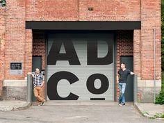 warehouse retro signage exterior - Google Search