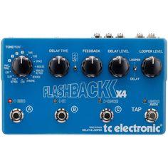 TC Electronic Flashback X4 Programmable Delay & Looper