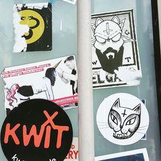 These 2 evil cats belong together. . . . #berlin #germany #kreuzberg #streetart #streetartberlin #berlinstreetart #stickerporn #stickerart #urbanart #stickerslap #stickers #slaps #slapstickers #stickergame #stickertrade #stickerbombing #sticker