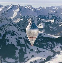 On March 1, 1999, Bertrand Piccard and Brian Jones lifted off from the Swiss alpine village of Chateau d'Oex in the Breitling Orbiter 3. They landed in in the Egyptian desert on March 21 after completing the first nonstop flight around the world in a balloon. | Source: orbiterballoon.com