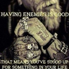 Stand up for your self! Gangster Quotes, Biker Quotes, Badass Quotes, Motorcycle Quotes, Motorcycle Clubs, Motorcycle Tips, Wisdom Quotes, Quotes To Live By, Me Quotes