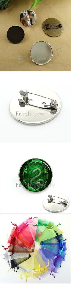 Cool green snake picture men jewelry brooch school badges of slytherin hogwarts potter  fans gifts wedding pin  KC331