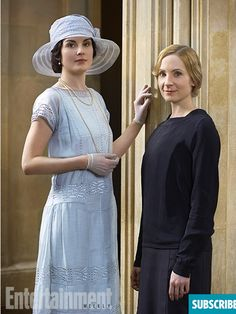however-whatever-whenever:  Lady Mary (Michelle Dockery) and Anna (Joanne Froggatt)