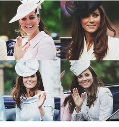 Trooping of the Colour  Duchess of Cambridge 2013 2011 2012 2014