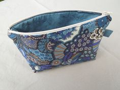 Zippered Pouch - Liberty Fabric