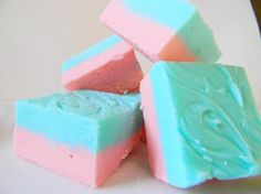 cotton candy fudge(OMG)