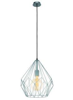 Wykonana z metalu w kolorze mint. Doskonale komponuje się z nowoczesnymi wnętrzami, w stylu industrialnym, skandynawskim oraz vintage.