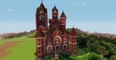 Victorian Mansion Minecraft Project