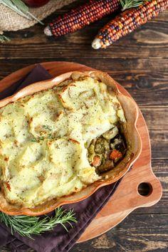 Vegan Holiday Shepherd's Pie - ilovevegan.com