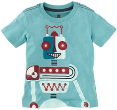 Tea Roboter Graphic Tee - Available at ButtonTreeKids.com #buttontreekids #children #childrens #child #kids #cute #onlineshop #clothing #fashion #kidsfashion #childrensclothing #kidswear #instafashion #tea #teacollection #germany #littleboys #boys #boysclothing #toddler #kid #robot #blue #german #science #robotics #tshirt #tee #shirt #top #outfit
