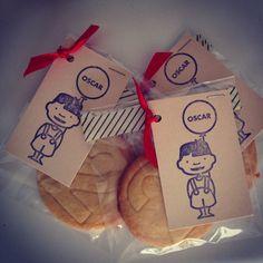 traktatie peuter koekje #oscar #koekje