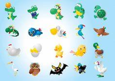 ilustrasi karakter hewan