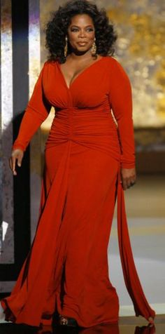 Oprah, you go-prah!  plus size outfit inspiration