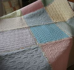 Patchwork Allsorts: Finally finished my quilt-as-you-go (QAYG) quilt....