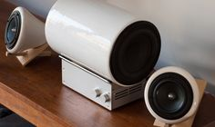 Ceramic Subwoofer by Joey Roth