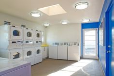 images of commercial laundry rooms | Commercial tenant improvement of laundry room facility