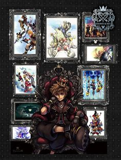 Kingdom Hearts: All-in-One Package - PlayStation 4 : Target Sora Kingdom Hearts, Tatouage Kingdom Hearts, Kingdom Hearts Tattoo, Sora And Kairi, Chain Of Memories, Cry Anime, Pixar Characters, Iconic Characters, Kindom Hearts