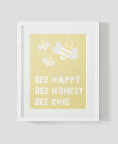 Bumble BeeWall Art Nursery