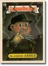 Slasher Asher | Garbage Pail Kids