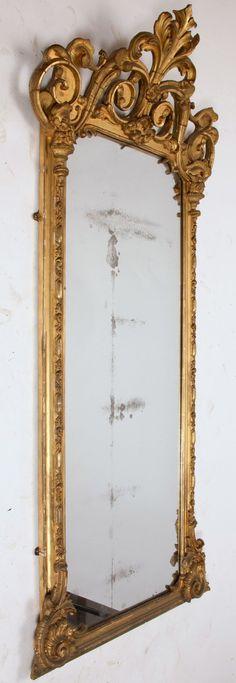 i wish !!!!!!! Circa 1870's Victorian Pier Mirror by trovedecor on Etsy, $3800.00