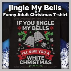 Perfect for the adult with a twisted sense of humor that loves Christmas! Great gag gift for you husband or boyfriend for the holiday season!