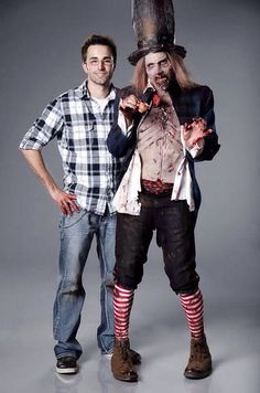 Jason with his Zombie Mad Hatter