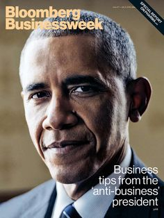 Magazine Cover: Bloomberg Businessweek (June 27-July 3, 2016) - Barack Obama