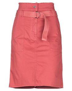 Vanessa Bruno Knee Length Skirt In Rust Woven Belt, Vanessa Bruno, Mini Skirts, Rust, Weave, Alice, How To Wear, Closure, Zip