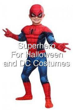 Superhero Costumes For Halloween Marvel and DC Costumes