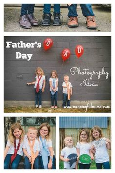 Father's Day Photography Ideas and Animoto Giveaway