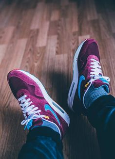 new products 5781e cf285 Nike Air Max 1 Parra x Patta - 2010 (by kaczy  ) Suit Shoes,