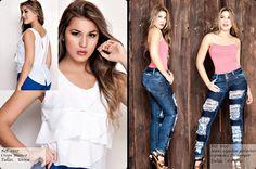 150330 - Catálogos de Blusas / Jeans & Blusas