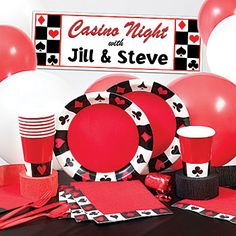 Card Suit Deluxe Kit-N-Kaboodle Kit < + many more casino theme party supplies & decorations.