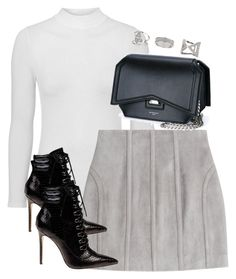 """""""Untitled #3650"""" by theeuropeancloset on Polyvore featuring Topshop, Balmain, Givenchy and Miss Selfridge"""