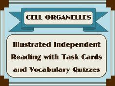 Written especially for students who need secondary biology content but who can't read grade level text. It's written on an upper elementary reading level (ranging from 5.6 – 6.1) but covers all of the essential information typically taught in secondary level biology classes about the structure and function of cell organelles.