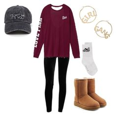 """""""Girl Gang"""" by jaiden-ortiz on Polyvore featuring Victoria's Secret, UGG, Alyx and BP."""