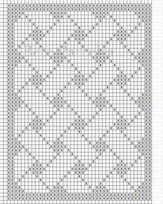 15 New Ideas Baby Blanket Print Knitting Patterns Filet Crochet Charts, Crochet Diagram, Knitting Charts, Crochet Stitches, Knitting Patterns, Crochet Table Runner Pattern, Tapestry Crochet Patterns, Crochet Lace Edging, Crochet Borders