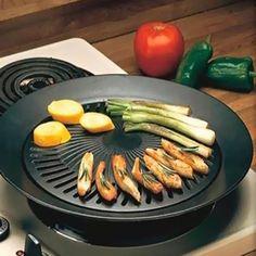 Smokeless Indoor/Outdoor BBQ Grill - 2 Colors