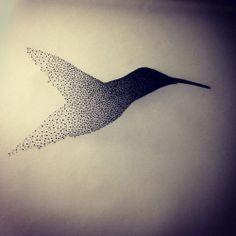 New Tattoo Project for @miss_chery! #colibri #colibritattoo #tattoo #tattrx…