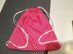 Cats On The Homestead: Drawstring Backpack - Super Easy