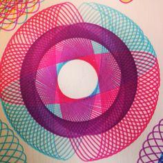 Spirographs. Great deal of fun.