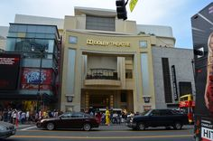 Dolby Theater--check for March 2017 Los Angelos
