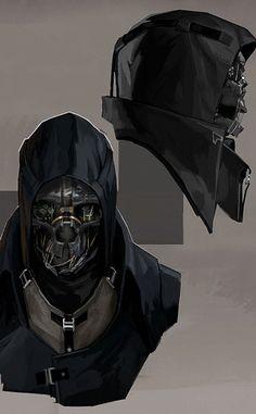 Dishonored - Corvo Attano Comic Character, Character Concept, Concept Art, Character Design, Game Concept, Dishonored 2, Sketchbook Inspiration, Bioshock, Video Game Art