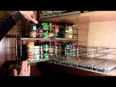 Spice Racks | Organizing Spices | Spice Rack Drawer : Vertical Spice