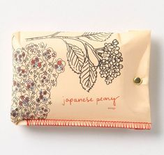 Anthropologie Soap Packaging: Japanese Peony