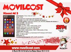 Movilcost Valencia: Hola Mundo... www.movilcost.com El Xiaomi MI-3 es ...