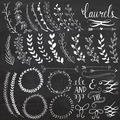 Fonts and swirls